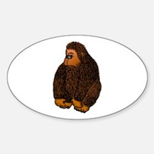 Gorilla Sticker (Oval)