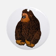 Gorilla Ornament (Round)
