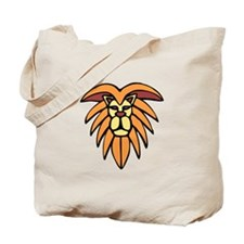 Lion King Of The Jungle Tote Bag