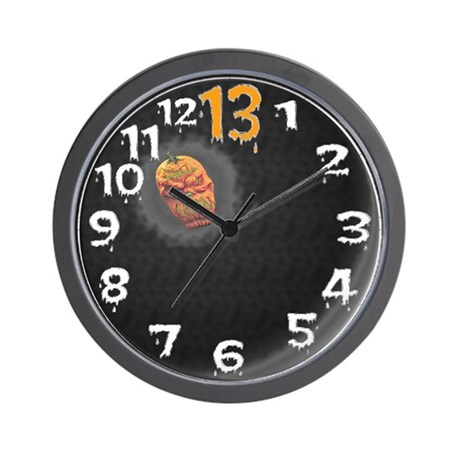 the thirteenth hour Wall Clock