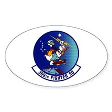 308th Fighter Squadron Oval Decal