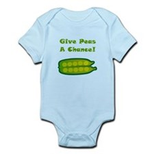 Give Peas A Chance! Infant Bodysuit
