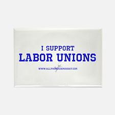Cute Labor unions Rectangle Magnet