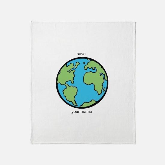 Mothership Throw Blanket