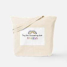 Meetings About Rainbows Tote Bag