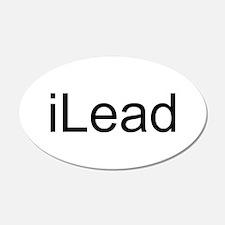 iLead 38.5 x 24.5 Oval Wall Peel