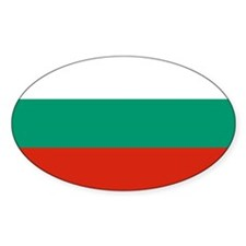Bulgarian Flag Decal