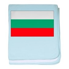 Bulgarian Flag baby blanket