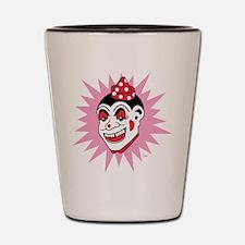 Retro Clown Shot Glass