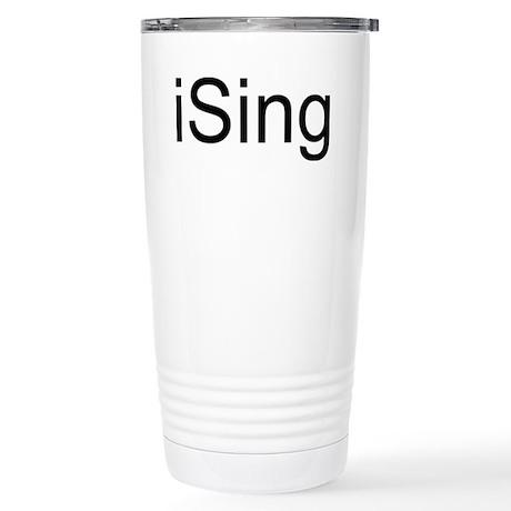 iSing Stainless Steel Travel Mug