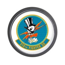 310th Fighter Squadron Wall Clock