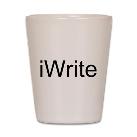 iWrite Shot Glass