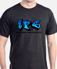 mad_addresses_blue T-Shirt