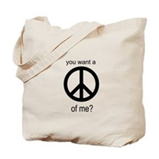 Peace by Piece Tote Bag