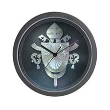 Pope Benedict Coat of Arms :: Wall Clock