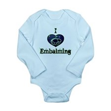 Embalming Long Sleeve Infant Bodysuit