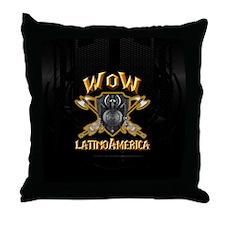 WoW Latam Throw Pillow