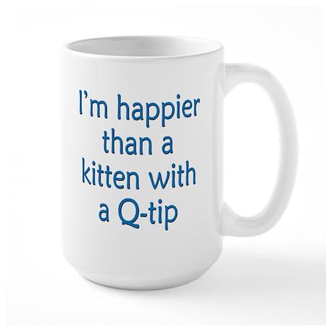 Happy Kittens Large Mug
