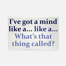 Mind like a... Rectangle Magnet