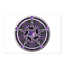 Pentacle of the Purple Moon Postcards (Package of