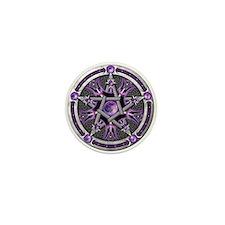 Pentacle of the Purple Moon Mini Button
