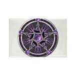 Pentacle of the Purple Moon Rectangle Magnet (10 p