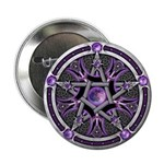 """Pentacle of the Purple Moon 2.25"""" Button (100"""