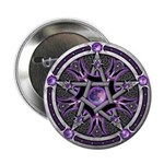 """Pentacle of the Purple Moon 2.25"""" Button"""