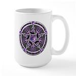 Pentacle of the Purple Moon Large Mug