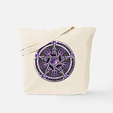Pentacle of the Purple Moon Tote Bag