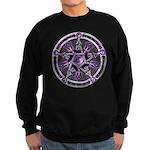 Pentacle of the Purple Moon Sweatshirt (dark)