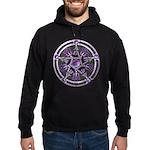 Pentacle of the Purple Moon Hoodie (dark)
