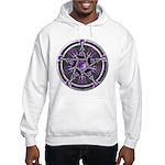 Pentacle of the Purple Moon Hooded Sweatshirt