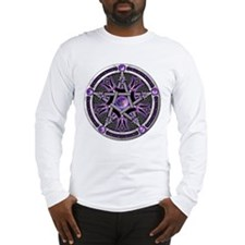 Pentacle of the Purple Moon Long Sleeve T-Shirt