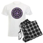 Pentacle of the Purple Moon Men's Light Pajamas