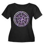 Pentacle of the Purple Moon Women's Plus Size Scoo
