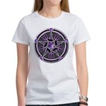 Pentacle of the Purple Moon Women's T-Shirt