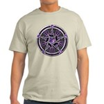 Pentacle of the Purple Moon Light T-Shirt