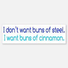 Cinnamon Buns Bumper Bumper Sticker