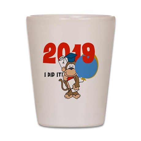 Monkey 2016 Graduation Shot Glass
