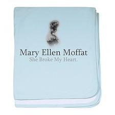 Mary Ellen Moffat - She Broke baby blanket