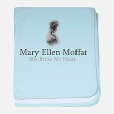 Mary Ellen Moffat - She Broke baby blanket