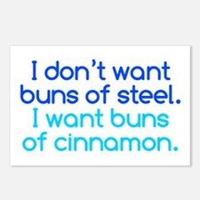 Cinnamon Buns Postcards (Package of 8)