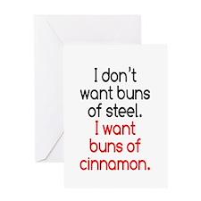 Cinnamon Buns Greeting Card