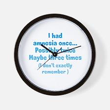 Having Amnesia Wall Clock