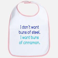 Cinnamon Buns Bib