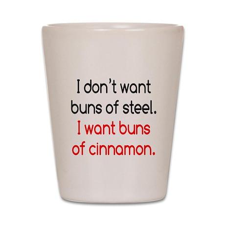 Cinnamon Buns Shot Glass