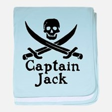 Captain Jack baby blanket