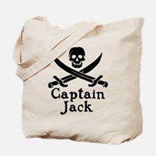 Captain Jack Tote Bag