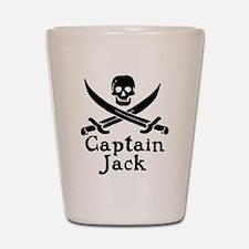 Captain Jack Shot Glass